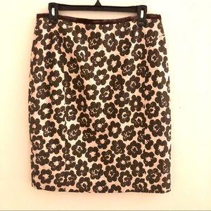 Etcetera blush/brown skirt